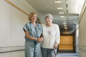 STNAs and CNAs care for residents of nursing homes and other elder-care facilities.