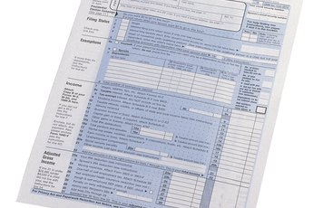 How to Fill Out a W4 When Filing Taxes Together as Married