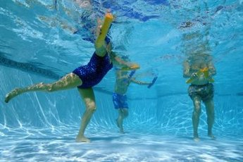 Aquafit exercises are for everyone.