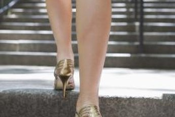 Strong calf muscles help you balance in high heels.