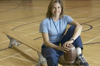Physical education teachers promote health.
