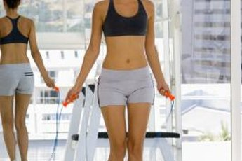 Jumping rope between resistance training sets is one way to punch up your workout.