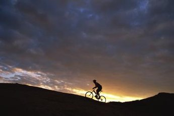 Ride just as the sun rises to beat the heat.