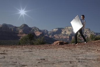 Installing off-grid solar power can save money in remote areas.
