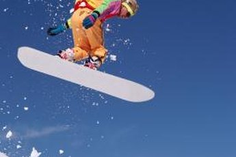 A tough jump on uneven terrain can cause ugly scratches on your snowboard.