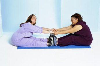 Try a yoga class designed for plus-size bodies.