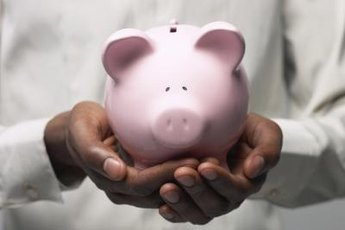 Treasure the value of a coin by using a piggy bank.