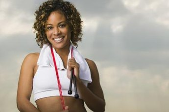 Stretch band exercises can help you get buff and maintain strong bones.