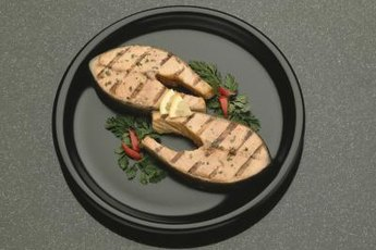 Eat more lean protein, such as salmon, instead of foods high in carbs.