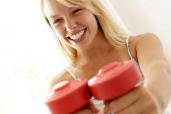 A couple of strength-training sessions each week will add definition to your body.