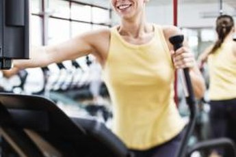 Elliptical machines and stair steppers both tone your lower body.