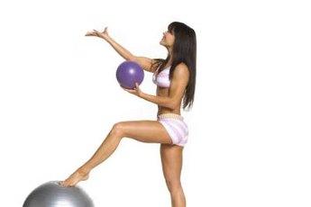 Mini balls aren't for juggling, but core strengthening.