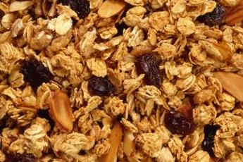 Granola can help you boost your fiber intake.