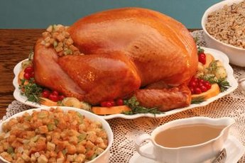 A little turkey is usually safe for Fido.