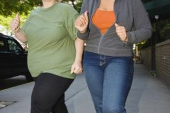 A walking buddy helps you stay motivated while you walk the pounds away.