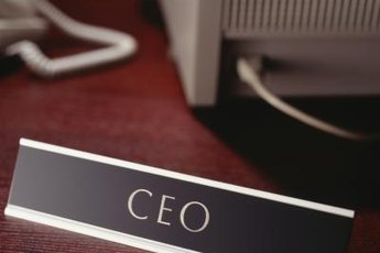 In a small business, a CEO may be the only chief executive position.