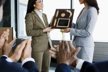 Include a personal story, and avoid diminishing the award.