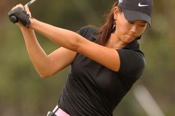 Move your hands and hips together for a smooth downswing.