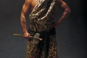Caveman ate a diet of primarily meats, fresh fruits and vegetables.