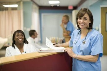 Case managers keep track of patient care.