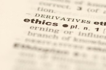 Ethical Characteristics in the Workplace