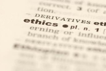 Good work ethics are essential for business practices.