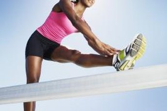 Bleachers provide a challenging workout session.