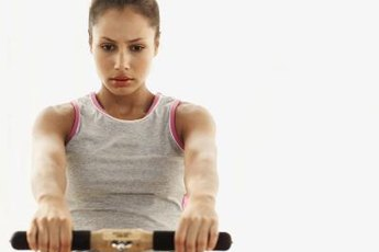Rowing machines are ideal for home use.