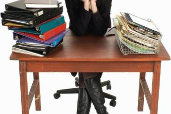 Organization is the key to tackling a heavy workload.