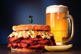 A gut-busting meal of red meat and beer could put your pancreas into overdrive.