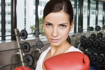 Full Upper-Body Workout With a Punching Bag