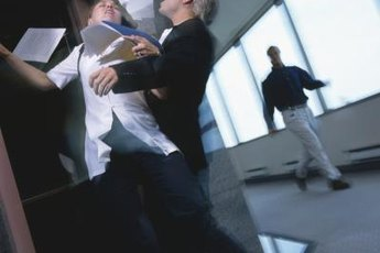 Carlessness and distraction lead to workplace accidents.