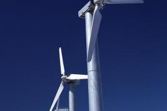 Wind farms generate electricity with minimal impact on the environment.