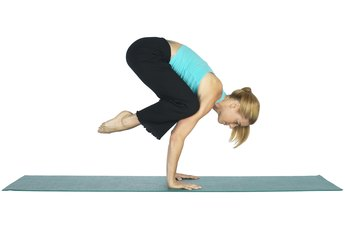 Knee on Elbow Yoga Pose