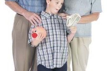Grandparents can help a child build financial security for the future.