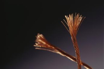 Copper wire is a common target for scrap metal thieves.