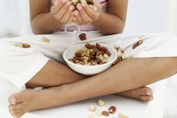 Nuts have healthy fats, not cholesterol.