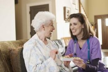 The career outlook is rosy for those wishing to become  professional caregivers.