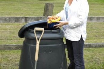 Some gardeners prefer to compost fruit peels outdoors to minimize fruit flies.