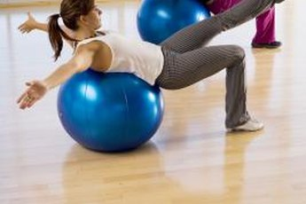 The stability ball offers interesting ball exercise variations.