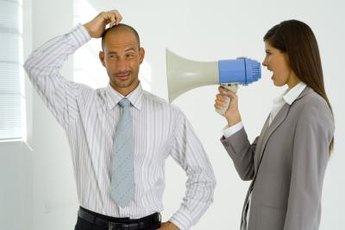 Avoid being aggressive when communicating your expectations.