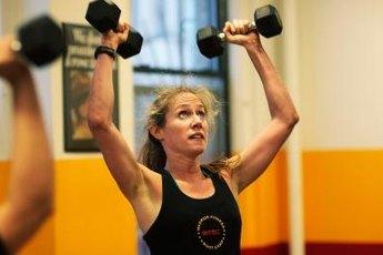 Lifting weights burns fat.