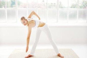 Trim your waistine with yoga.