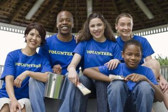 After a disaster, volunteers can contribute to relief and recovery efforts.
