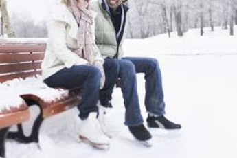 Tie your skates tightly to avoid ankle wobble.
