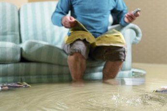 After the flood, concentrate on home restoration rather than getting tax breaks.