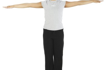 Arm Stretches on the Wall for the Median Nerve