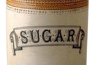 White sugar isn't allowed when eating clean.