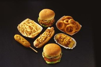 High-fat foods are the most calorically dense.