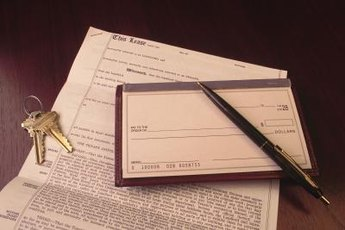 Tax write-offs may be possible, depending on how home lease-purchases are executed.